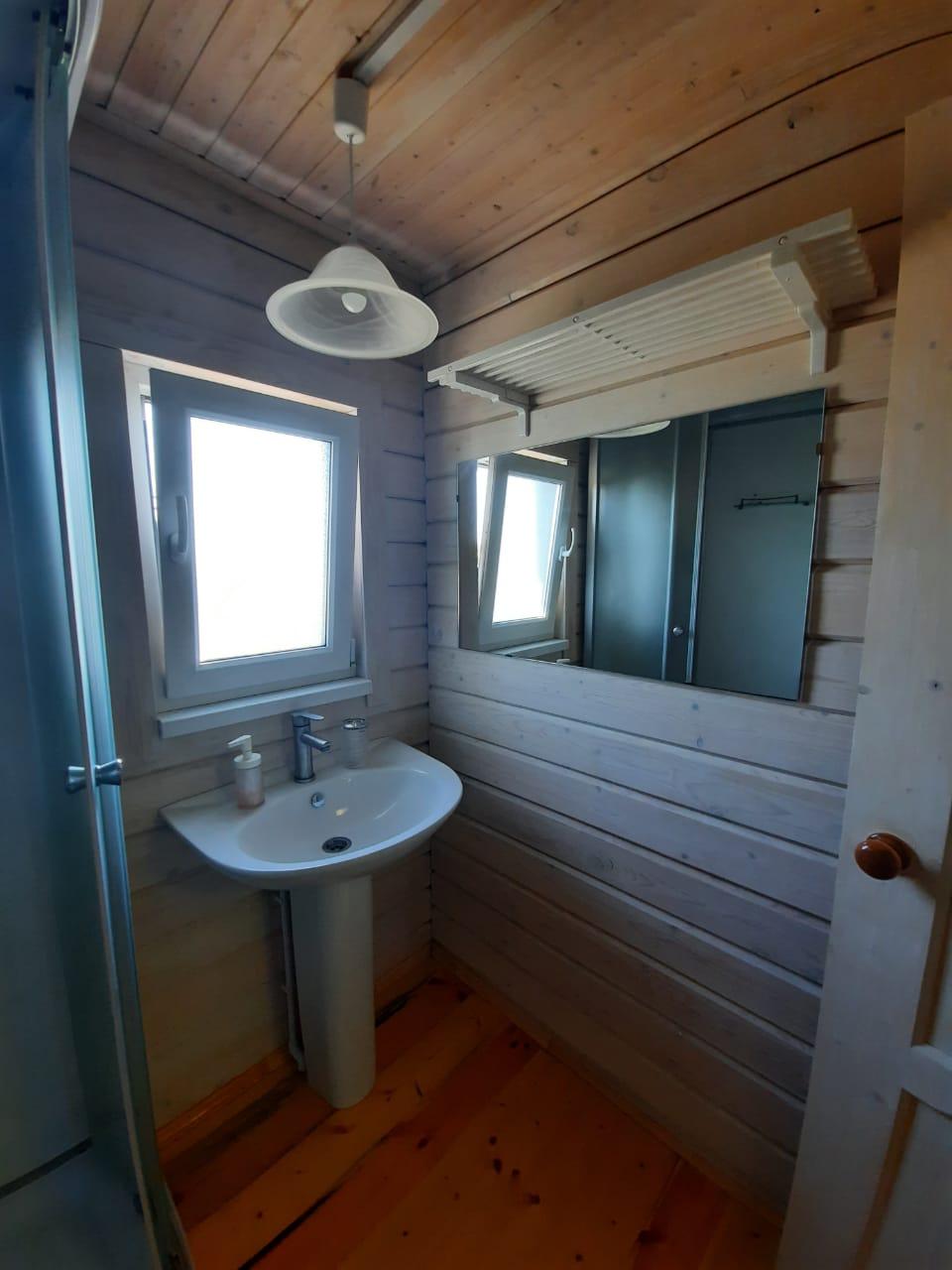 Ванная комната в двух этажном номере
