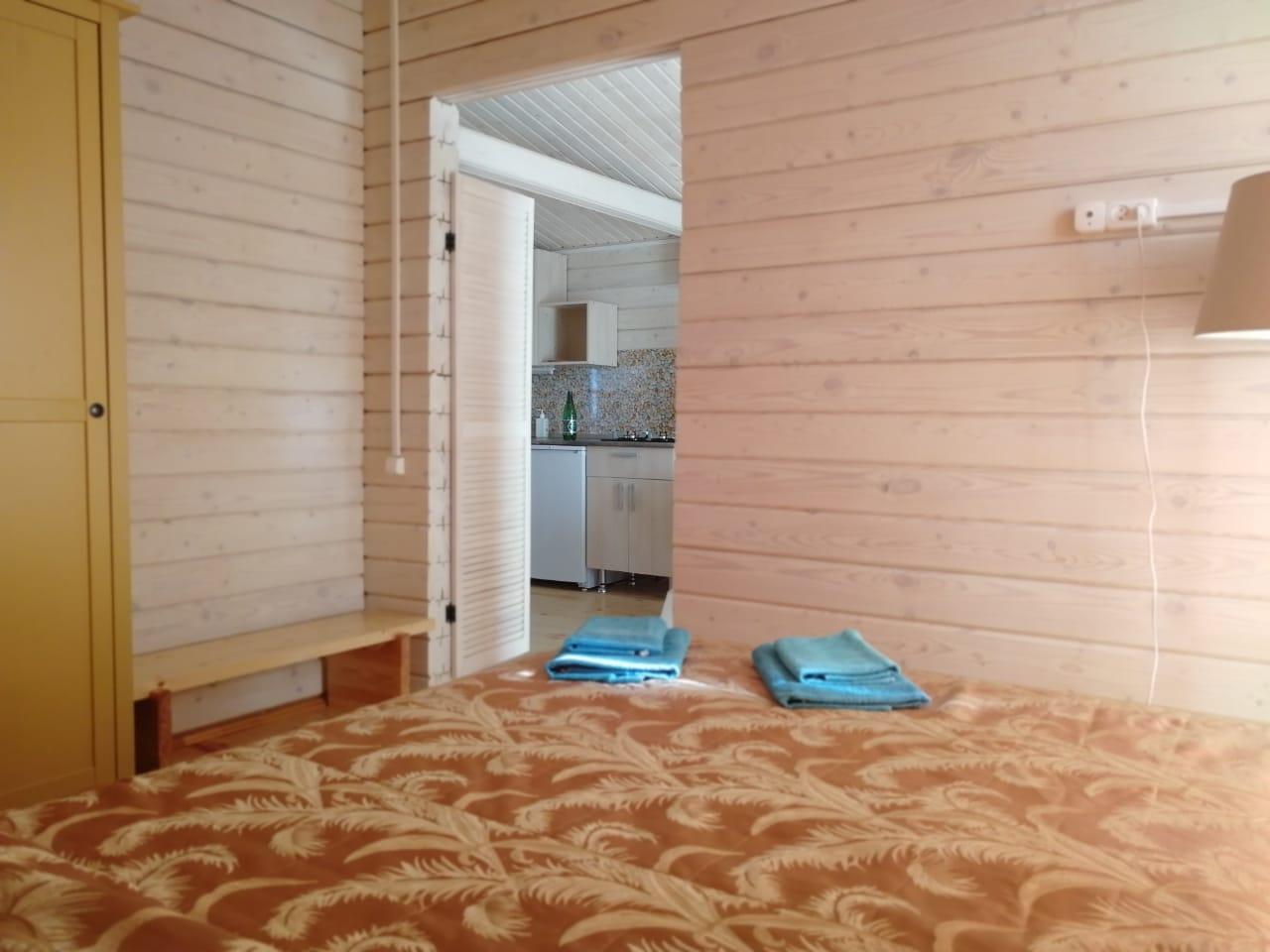 Спальня одно этажного дома