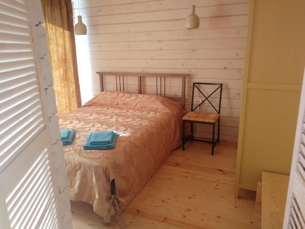 Спальня в одноэтажном доме