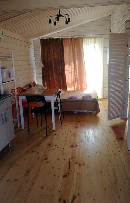 Общая комната в одно этажном доме